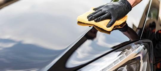 full detailing with car polish